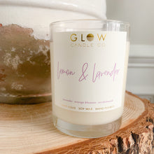 GLOW Lemon & Lavander Candle