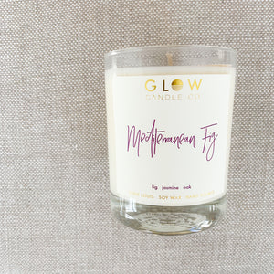 GLOW Mediterranean Fig Candle - BelleStyle