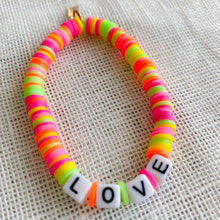 Neon Rainbow Friendship Bracelet - BelleStyle love happy sun swag