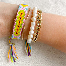 Hand Braided Friendship Multi Colored Bracelet - Bellestyle Lime