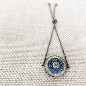 Ocean Turkish Evil Eye Bracelet