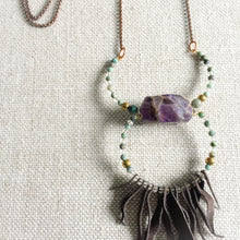 Futa Lux Amethyst Necklace by BelleStyle