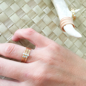 Carter Clear Ring - BelleStyle