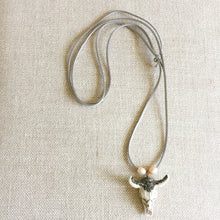 Britt Crystal Gunmetal Necklace