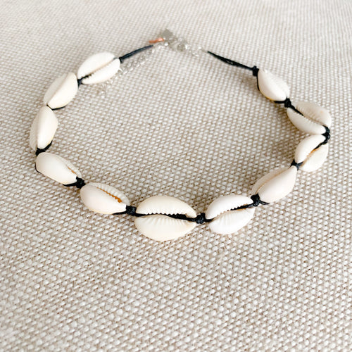 Cowrie Choker Necklace - BelleStyle