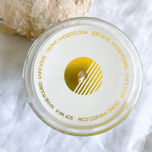 GLOW Sun & Sea Salt Candle - BelleStyle