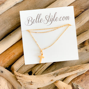 Cross Necklace - BelleStyle