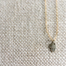 Hamsa Silver Mini Necklace - BelleStyle