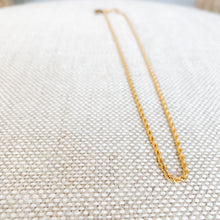 Gold Rope Chain Necklace - BelleStyle