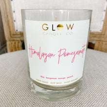 Glow Himalayan pomegranate lead free soy wax non toxic candle