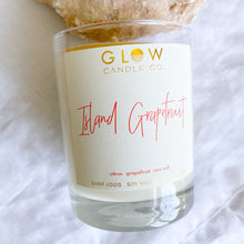 GLOW Island Grapefruit Candle - BelleStyle