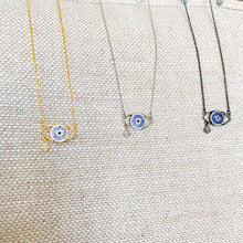 Evil Eye Hamsa Necklace-more colors
