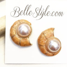 Shell Post Earrings