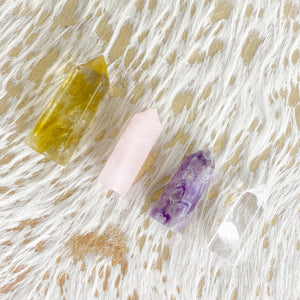 BelleStyle Amethyst Crystal quartz wand home office decor Citrine rose quartz crystal quartz