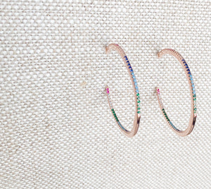 Rexa Rainbow Earrings - BelleStyle