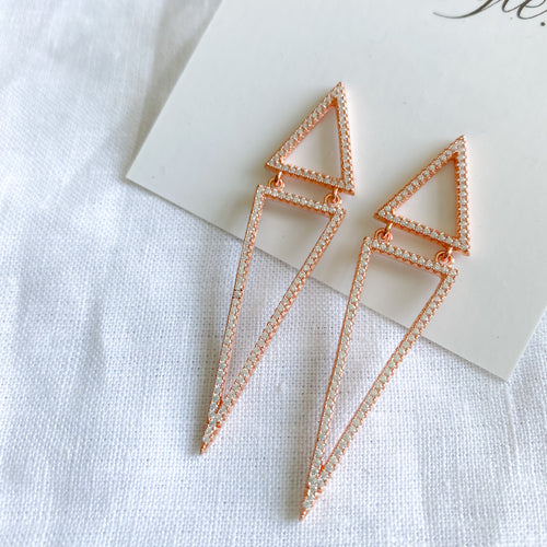 Triangle Earrings - BelleStyle