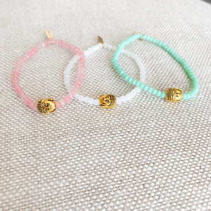 Buddha Stone Bracelet-more colors