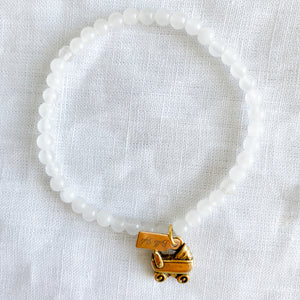 Baby Carriage Bracelet - BelleStyle