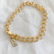 Noah Gold Double Link Bracelet - Bellestyle - 14KTGF waterproof gold chain