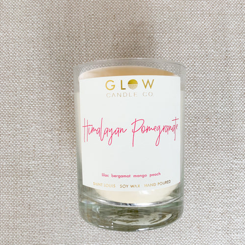 GLOW Himalayan Pomegranate Candle