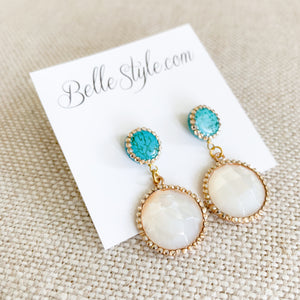 St. Tropez Earrings - BelleStyle
