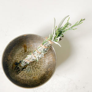 Sustainable Silver Smudge Dish - BelleStyle