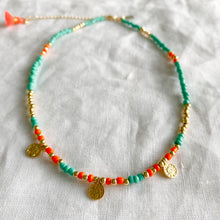 Sunshine Seed Bead Choker Necklace - BelleStyle