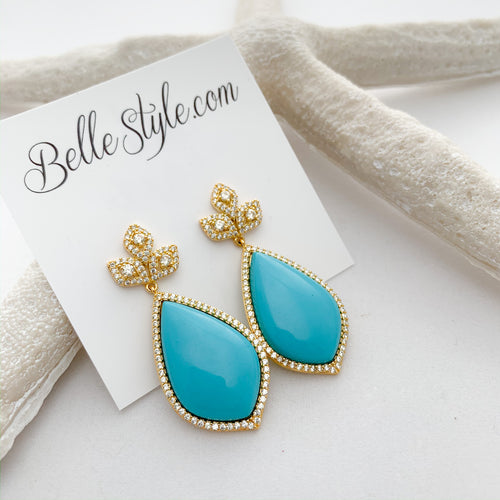 Danielle Earrings - BelleStyle