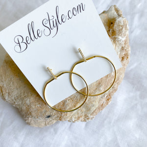 Apple Earrings - BelleStyle