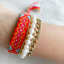 Hand Braided Friendship Multi Colored Bracelet - Bracelet red