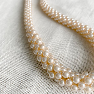 Berkshire Vintage Pearl Necklace - Bellestyle