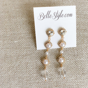 Marilyn Earrings - BelleStyle