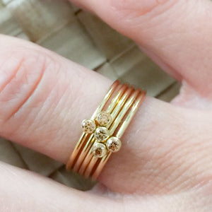 Carter Champagne Ring - BelleStyle