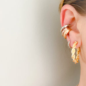Uptown Thick Earcuff Earring