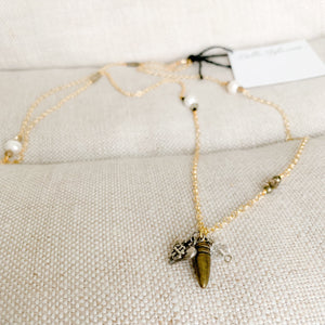 Wild Child Heart Necklace - BelleStyle