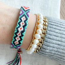 Hand Braided Friendship Multi Colored Bracelet - Bellestyle Turquoise