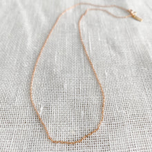 Just the Chain Gold rose Gold oval necklace - Bellestyle