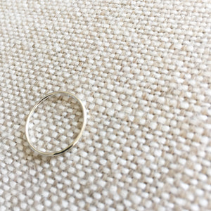 Lacy Silver Ring - BelleStyle