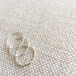 Lacy Silver Ring