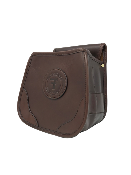 Clay Target and Hunting Shotgun Ammunition Pouch - Genuine Leather - Thomas Ferney & Co. Store