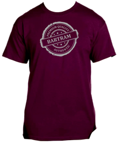 Bartram Maroon Tee Authentic