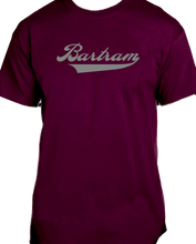 Load image into Gallery viewer, Bartram Maroon Tee Name