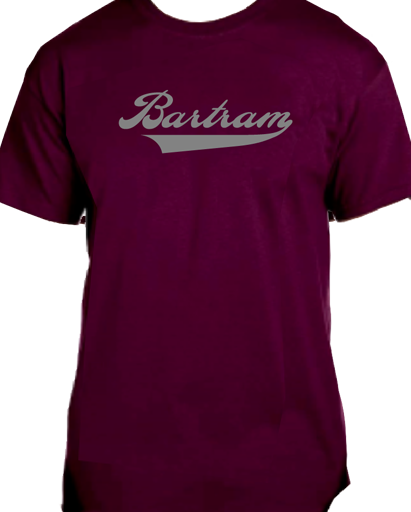 Bartram Maroon Tee Name
