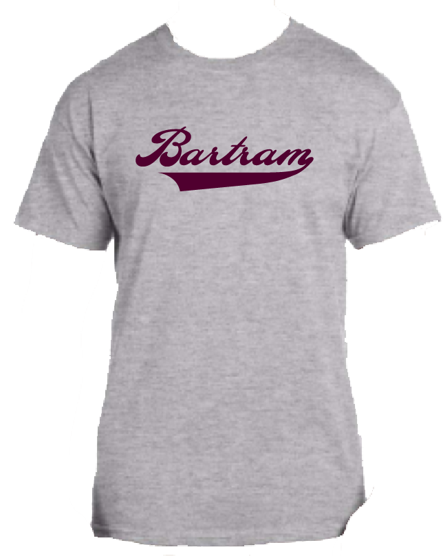 Bartram Gray Tee Name