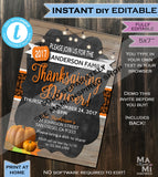 Thanksgiving Snapchat Geofilter- Touchdowns & Turkey Dinner Thankful Football Filter Party Personalize Custom Digital INSTANT Self EDITABLE