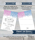 Gender Reveal Invitation, Editable He or She Gender Reveal Invite Baby He or She What will it be Glitter Printable Template INSTANT DOWNLOAD