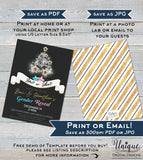 Christmas Gender Reveal Invitation, Editable Baby Shower Christmas Reveal Invite, Sparkle Holiday Baby  Printable