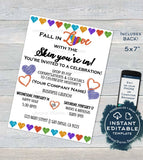 Editable Cocktails and Conversations Invitation, Rodan and Skincare Business Launch Party, BBL r f Love your Skin Printable