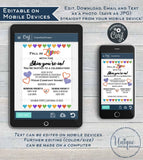 Editable Cocktails and Conversations Invitation, Rodan and Skincare Business Launch Party, BBL r f Love your Skin Printable INSTANT DOWNLOAD