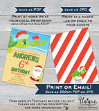 Oh Snap Turtles Birthday Invitation, Editable Christmas Birthday Invite, Summer Beach Birthday, ANY Age, Printable